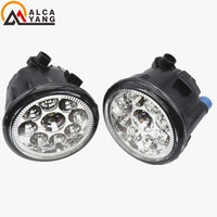 For NISSAN JUKE 2010 2015 2pcs 26150 8990B Car Styling Front Bumper LED Fog Lights High