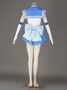 Image 3 - セーラームーンのアニメコスプレセーラー水銀/水野亜美ユニセックス原宿ハロウィーンパーティーコスプレ衣装カスタマイズすることができます