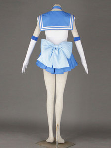 Image 3 - Sailor Moon Anime cosplay Sailor Mercury/Mizuno Ami Unisex Harajuku Halloween party cosplay costumes sets Can be customized