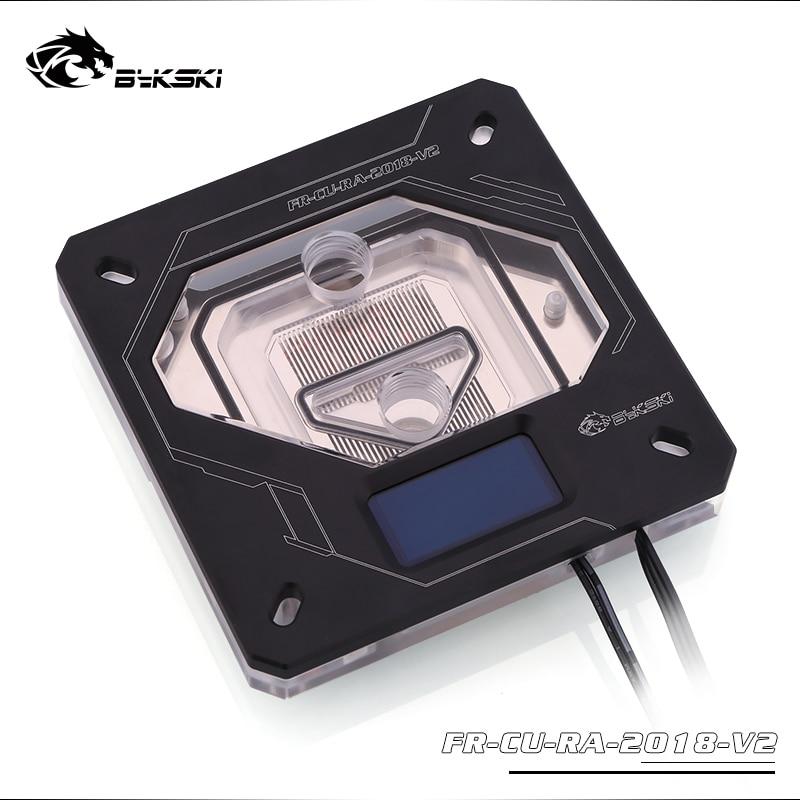 Ucuz Bykski CPU Su Bloğu Kullanımı Için INTEL LGA1150 1151 1155 1156  LGA2011 2066X99 RGB 5 V GND Aurora Işık Sıcaklık Ekran OLED Online -  ucuzzlmz