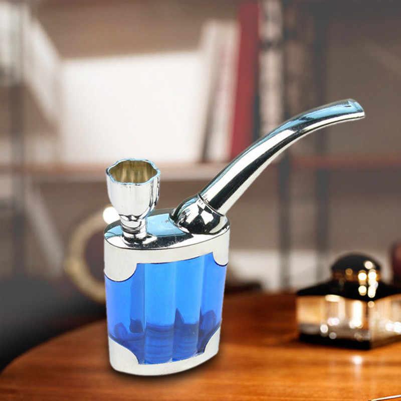 1 PC フィルター喫煙パイプタバコ水道管 Pipas シガーホルダーミニシーシャ水ギセル喫煙パイプ最高のギフトのため、ランダム