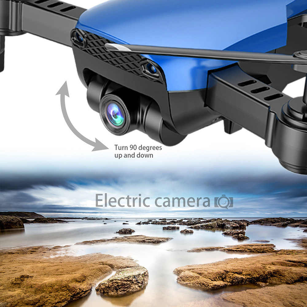 Teeggi M69 FPV RC Drone met 4 K/1080 P groothoek WiFi Camera HD Opvouwbare RC Quadcopter helicopter VS VISUO XS809HW E58 X12 Dron
