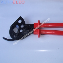 HS-765 Ratcheting ratchet cable cutter 400mm2 Max Germany design Wire Cutter Plier, Hand Tool, not for cutting steel wire
