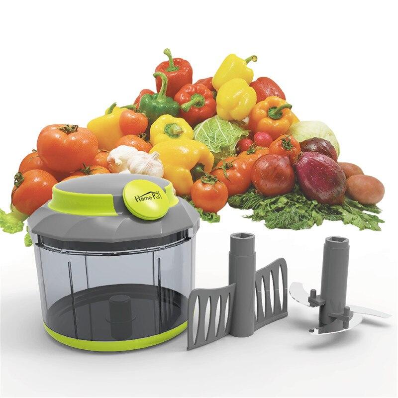 Ensalada de cebolla Vegetal Fruta De Acero Inoxidable Mano Chopper cocina Venta caliente