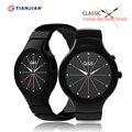 Nuevos dispositivos portátiles k1 smart watch bluetooth reloj deportivo de cuarzo smartwatch con monitoreo del sueño para ios android smartphone