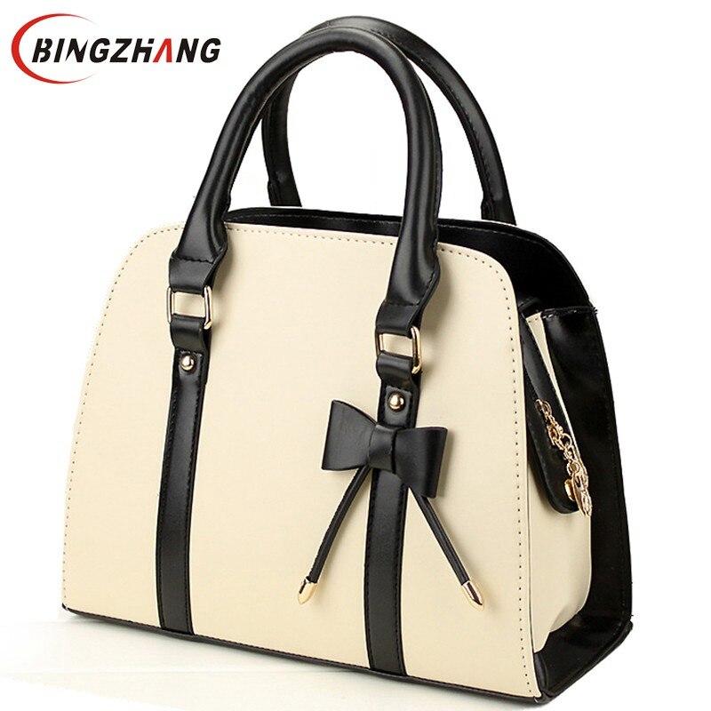 2016 New Fashion PU Leather Handbag Women Shoulder Messenger Bags Shell bags lady handbags Free Shipping L4-996