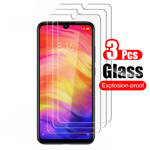 Image 1 - 3Pcs Tempered Glass For Xiaomi Redmi Note 7 Screen Protector Guard Protective Glass Film For Redmi Note7 Pro Note 7S