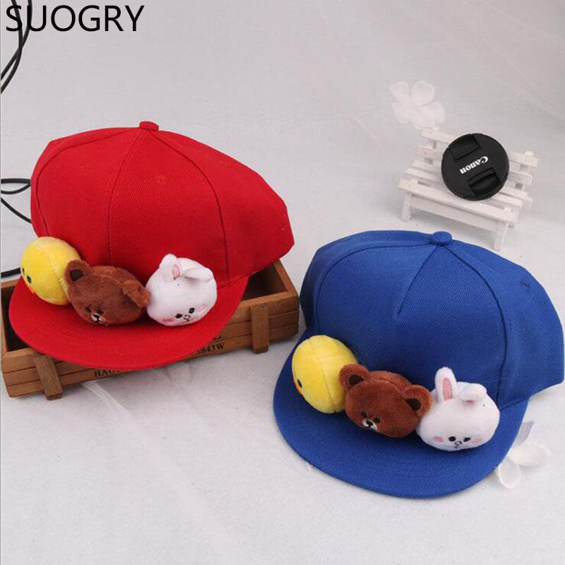 baseball caps for dogs hats babies canada uk fashion cartoon rabbit boys girls trendy font handmade