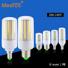 E27 / E14 5736 SMD Brighter Than 5730 5733 LED Corn Lamp 3W 5W 7W 9W 12W 15W Bulb Light 220V 230V 240V Three Light Color Choice(China)