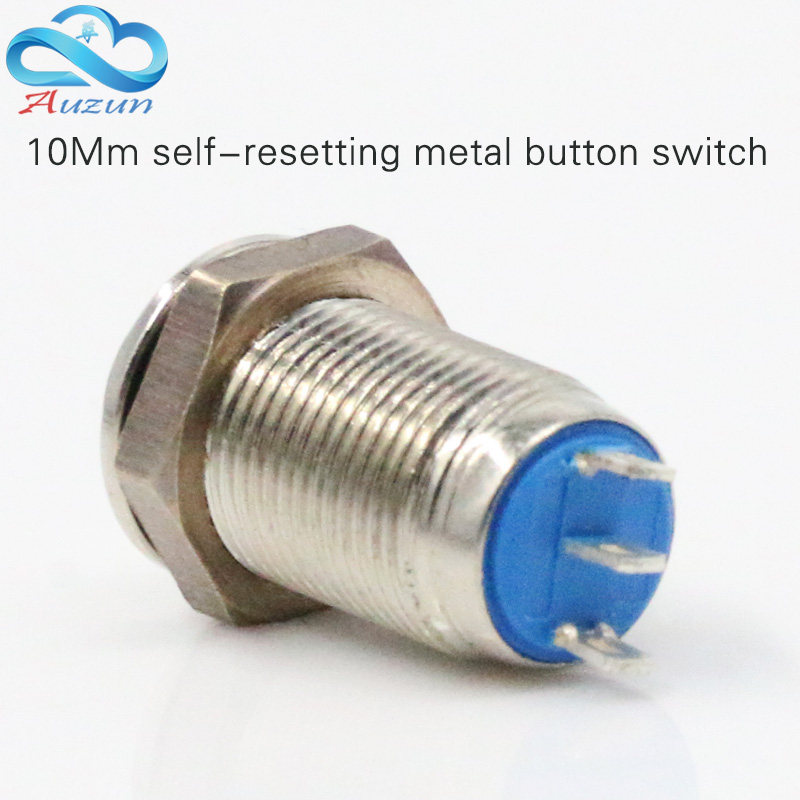 10 mm metal push button switch high reset button switch 1 normally open one normally closed three feet waterproof rust patrick di justo the science of battlestar galactica