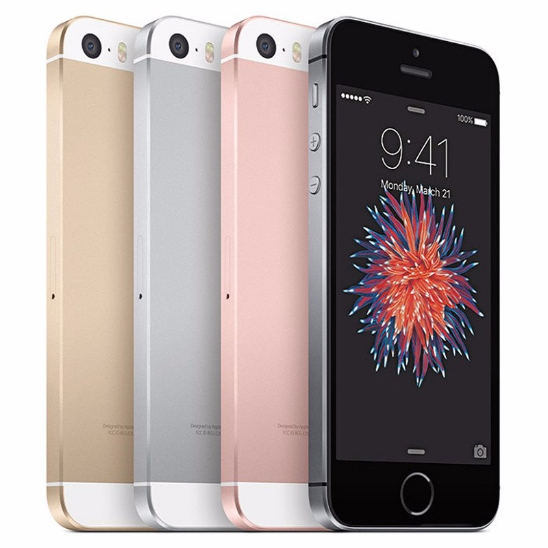 Apple iPhone SE 2GB 16gb Fingerprint Used LTE Touch-Id Unlocked Dual-Core 4G Sealed-2gb-Ram title=