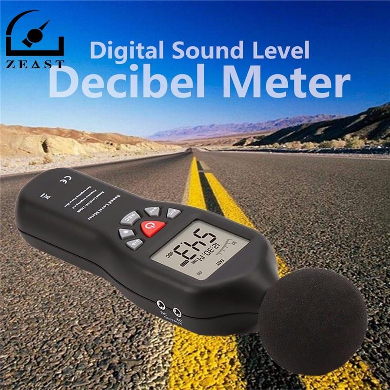 30 130db lcd digital sound level decibel meter logger tester noise measurement time display auto. Black Bedroom Furniture Sets. Home Design Ideas