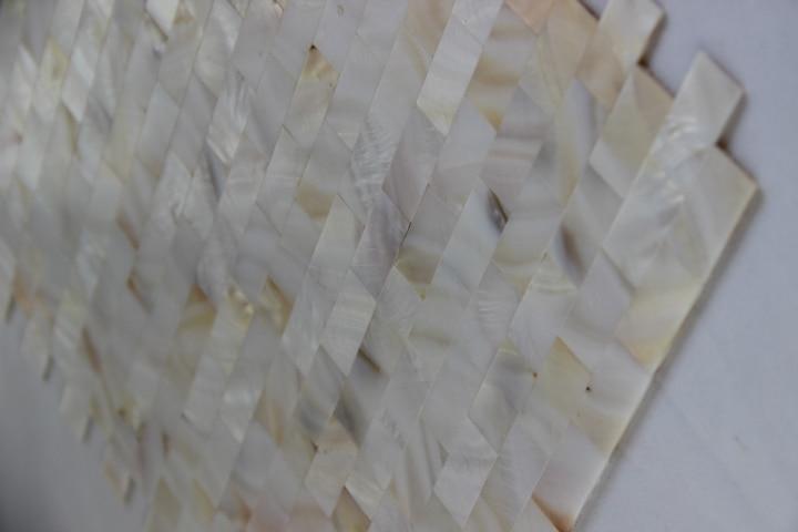 Witte Tegels Keuken : Nieuwe stijl witte kleur shell mozaïek tegel keuken badkamer