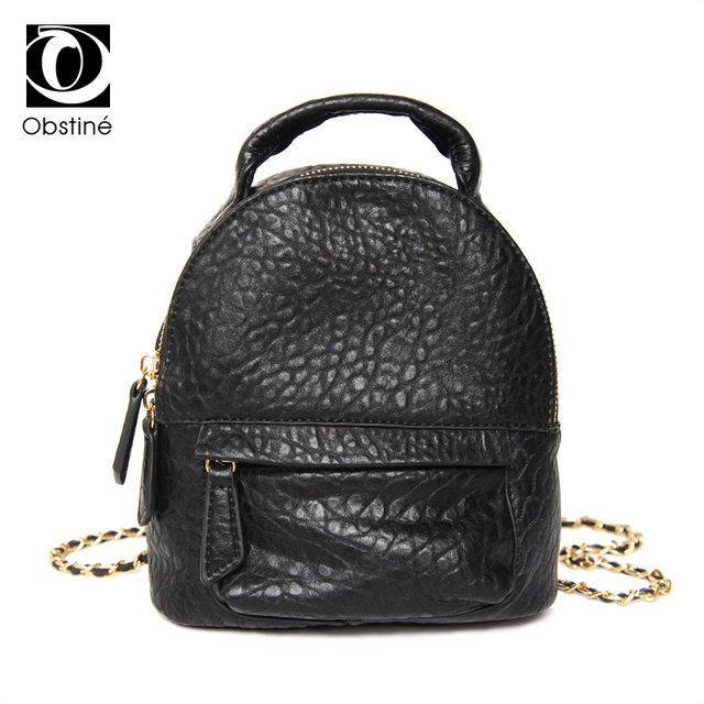 Online Shop fashion small black female backpacks mini backpack for ...