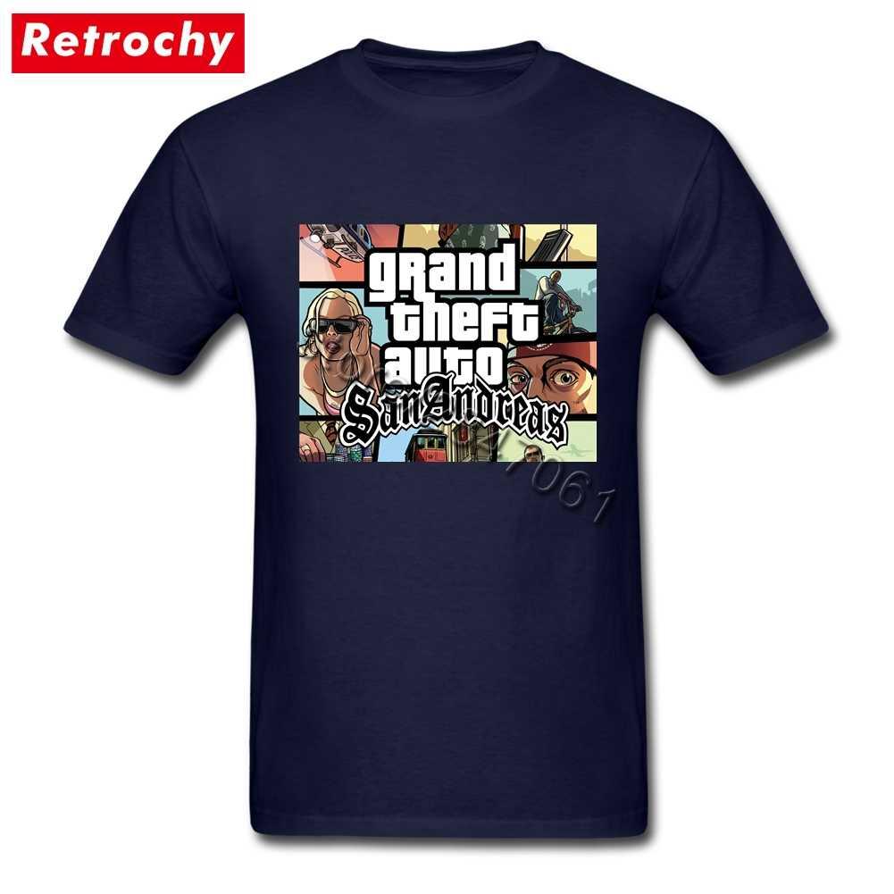 2019 Популярная Игровая футболка GTA San Andreas Team GRAND THEFT AUTO, Мужская футболка с коротким рукавом, уникальная одежда для видеоигр