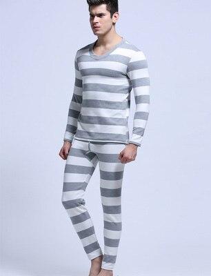 9c5b894ff75012 Marki bielizna męska kalesony koszula Nowa Moda mężczyzna paski Modalne  Bielizna termiczna Rozmiar M L XL Drop shipping