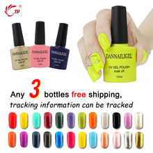 Blink Gel 3pcs/lot Dannail Gel 10ml Long Lasting Soak Off UV Gel Nail Polish Nail Art