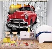 Curtains Decoration European 3D For Living room Blackout Roaantic Wedding Bedroom car curtains