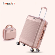 Luggage Set,Children Women's Suitcase Suit,High Quality Colourful ABS Travel Bag,Universal wheel Trolley box password Case