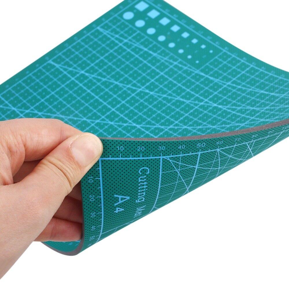 A4 Cutting Mats Sided Board Self-Healing Cutting Pad Patchwork Tools Manual DIY Self-Healing Grid Cutting