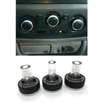 цена на For Mazda 323 Allegro Familia 626 protege Haima Happin Family Air Conditioning Knob Aluminum Alloy AC Knob Heat Control Button