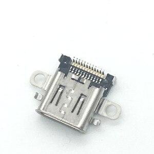 Image 5 - 5PCS Original Neue Micro USB DC Power Jack Buchse Stecker Ladegerät Für Schalter Konsole Lade Port