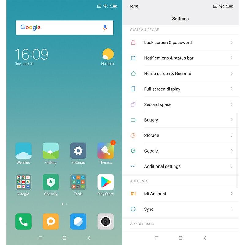 US $153 99 |New Original Xiaomi Redmi 6 Pro 4GB RAM 64GB ROM SmartPhone  Snapdragon 625 Octa Core 5 84