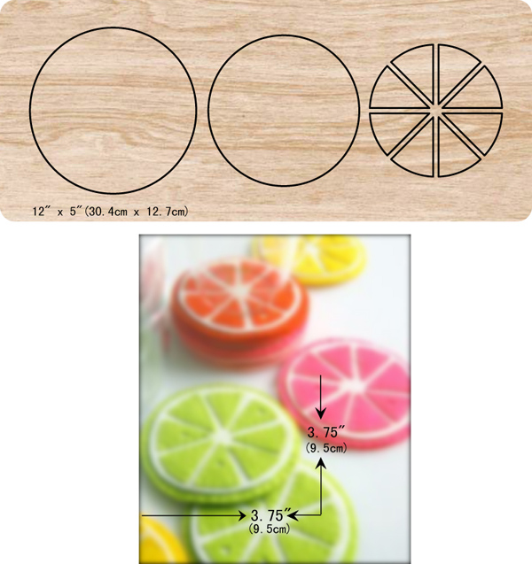 DIY New orange wooden dies cutting for scrapbooking Thickness/15.8mm/Multiple sizes /V-440