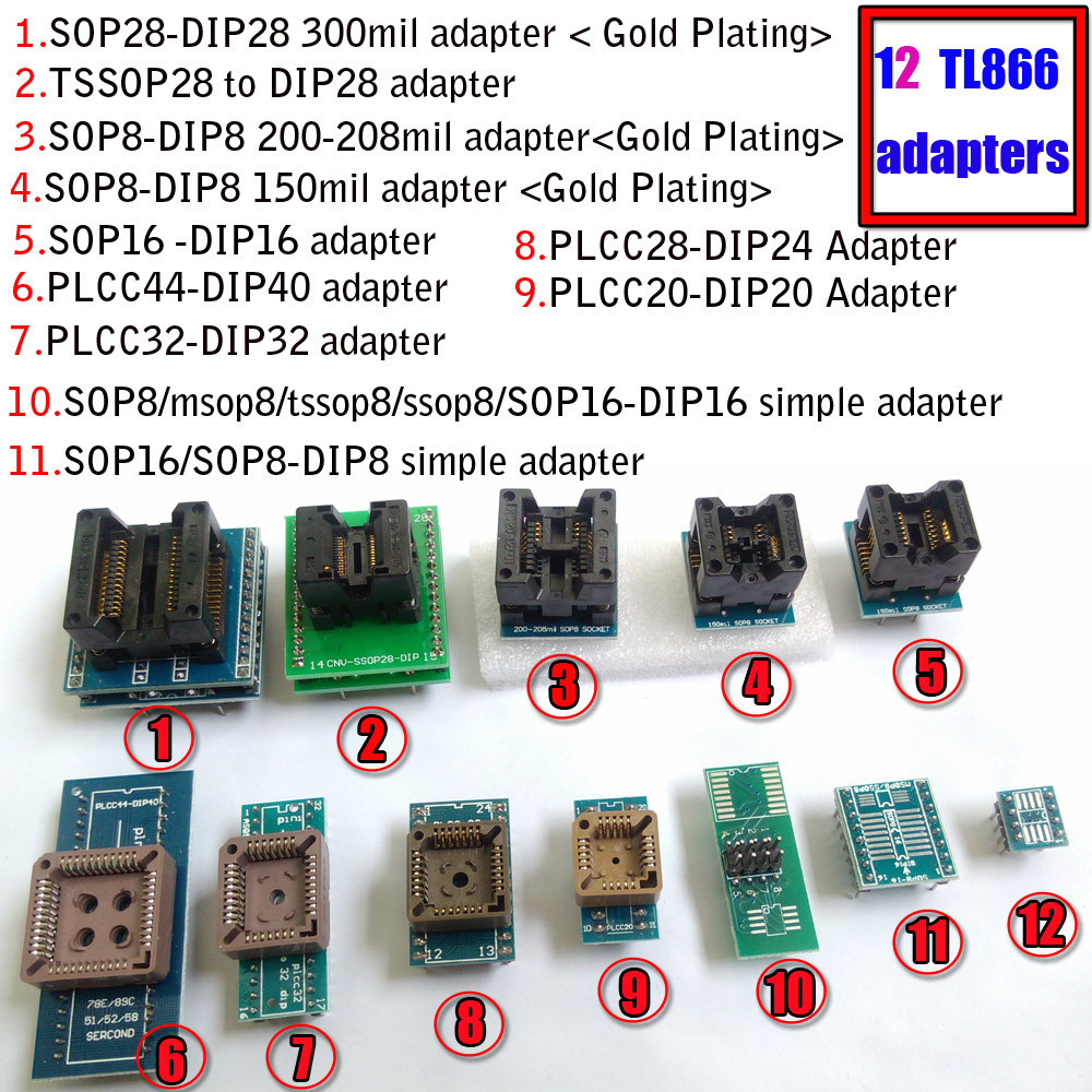 27C4096 AMD EPROM Chip Set of 10 Lot
