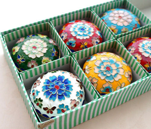 Wholesale 6 pcs 65cm New Chinese Tradition Handmade Cloisonne