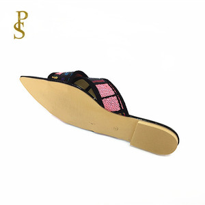 Image 5 - الصيف الشقق أحذية نسائية Ms النعال سيدة الأحذية