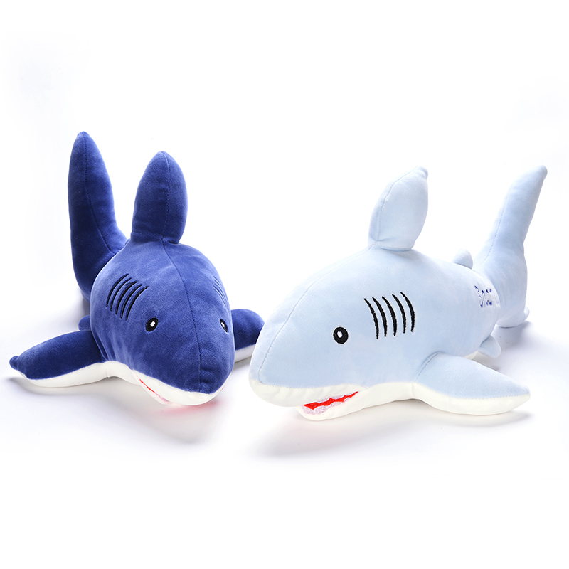 Plush Ocean Shark Simulation Toys Cute Super Soft  Lovely Stuffed Animal Shark Family Gifts Decoration for Kids Friend Baby 17 fancytrader new style giant plush stuffed kids toys lovely rubber duck 39 100cm yellow rubber duck free shipping ft90122