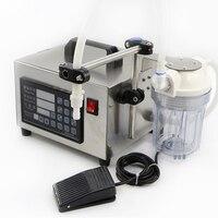220V Digital Control Liquid Quantitative Liquor Filling Machine With Power Off Memory Function And Anti Dripping