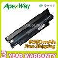 Apexway 6600mAh 9 cells battery for Dell Inspiron 13R N3010 14R N4010 15R N5010 17R N7010 1450 3450 3550 3750 J4XDH YXVK2
