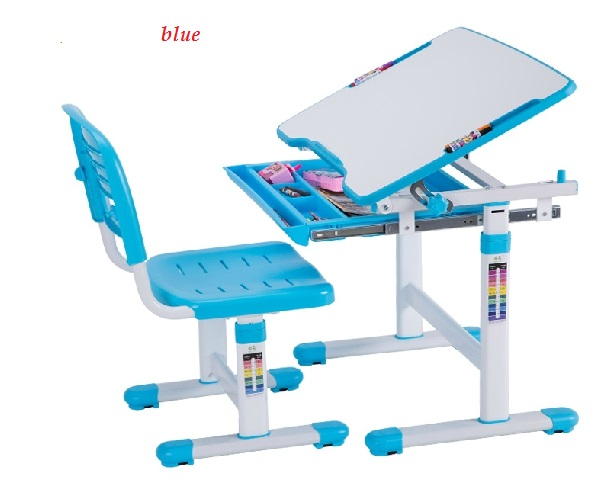 Kids Furniture Set Desk Children Learning Table Height