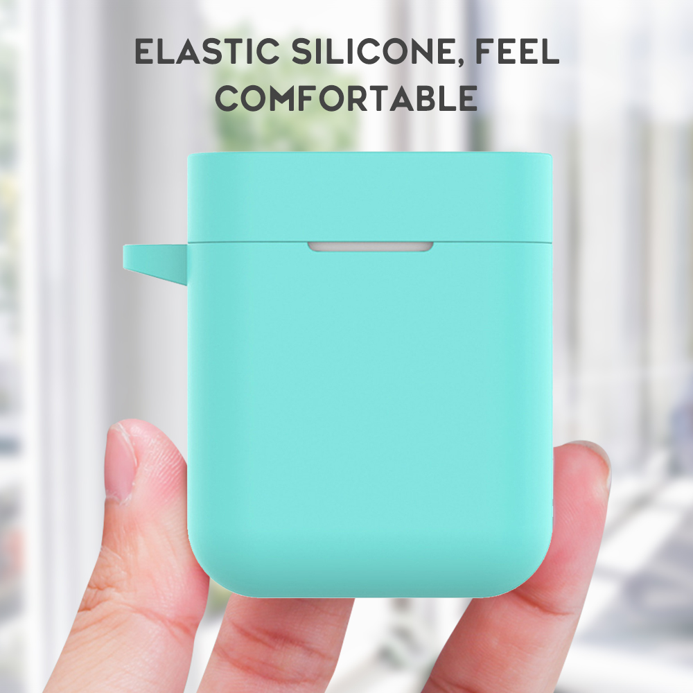Cover For Xiaomi Air Silicone Case Wireless Bluetooth Earphone Accessories for Xiaomi Air TWS Charging Box TPU Protective Shell