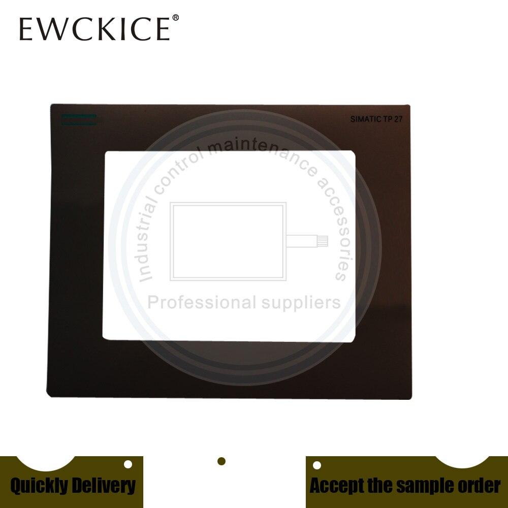 NEW TP27-10 6AV3627-1QL01-0AX0 6AV3 627-1QL01-0AX0 HMI PLC Front label Industrial control sticker