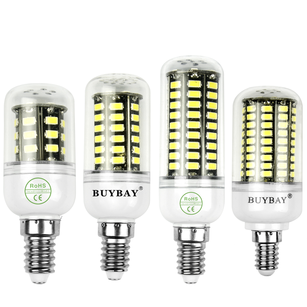 real 3w 4w 5w 7w 10w 12w led lamp e14 smd5736 28 50 64 80 100 130leds 90 260v 5630 led bulb corn. Black Bedroom Furniture Sets. Home Design Ideas