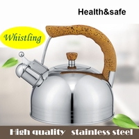 304 Stainless Steel Kettle Whistling Kettle Compound Sole Spirant Electromagnetic Furnace General