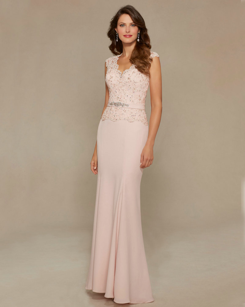 Style 71334 Blush Satin Mother Of Bride Dresses 2016 See