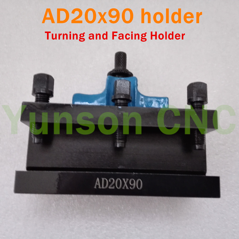 AD20 90 European Style Turing and Facing tool holder for Lathe Swing Diameter 150mm 300mm cutter