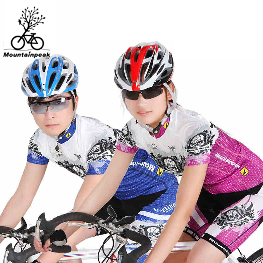 Summer Sports Cycling Clothes Men's Cycling Jersey Sets Breathable Quick Dry Mountain Bike Sports wear For Spring Women New triathlon fitness women sports wear shorts kit sets cycling jersey mountain bike clothing for spring jersey padded short