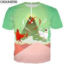 97f69aae New arrive popular cartoon game journey t shirt men/women 3D print t-shirts  casual hip hop style tshirt streetwear summer tops