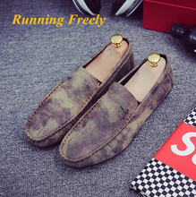 2016 New Men's Oxford Shoes Quality Leather Shoes Men Flat Shoes Soft And Breathable Men Loafers Comfortable Minimalist Design
