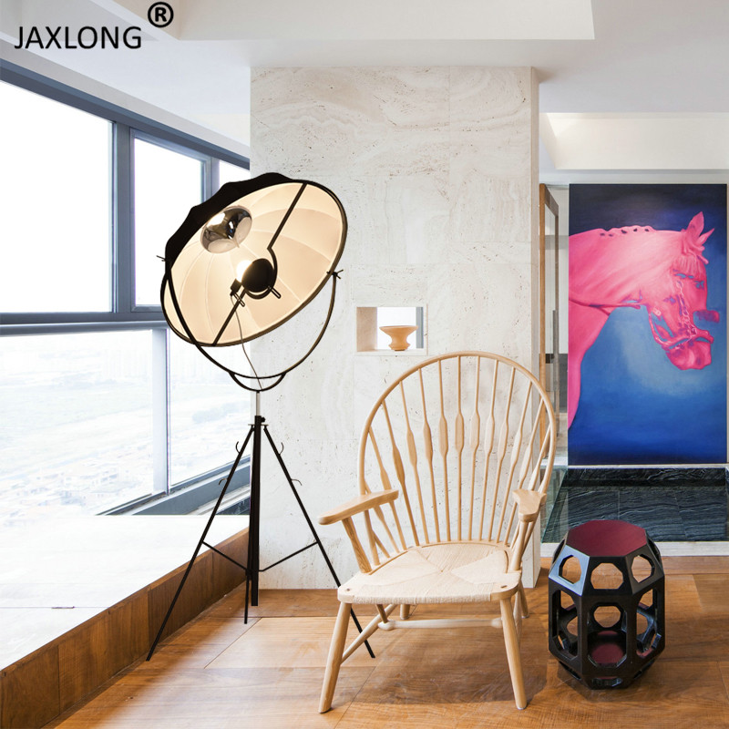 Nordic Industrial Style LED Floor Lamp Living Room Bedroom lustre Retro Decor Lighting Light Fixture Modern Kitchen Floor Lights in Floor Lamps from Lights Lighting