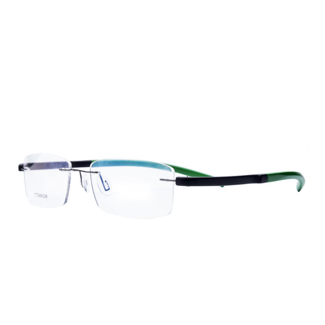 Vazrobe Rimless Glasses Men Women TR90 Ultra light Foldable Eyeglass ...