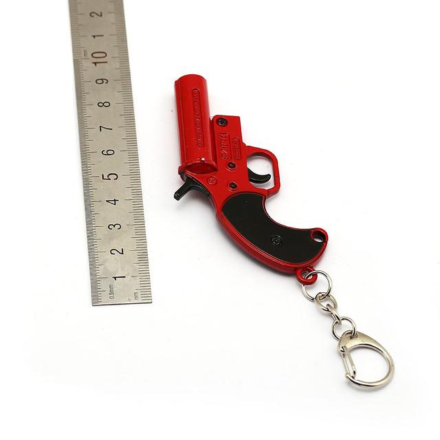 PUBG Flare Gun Keychain