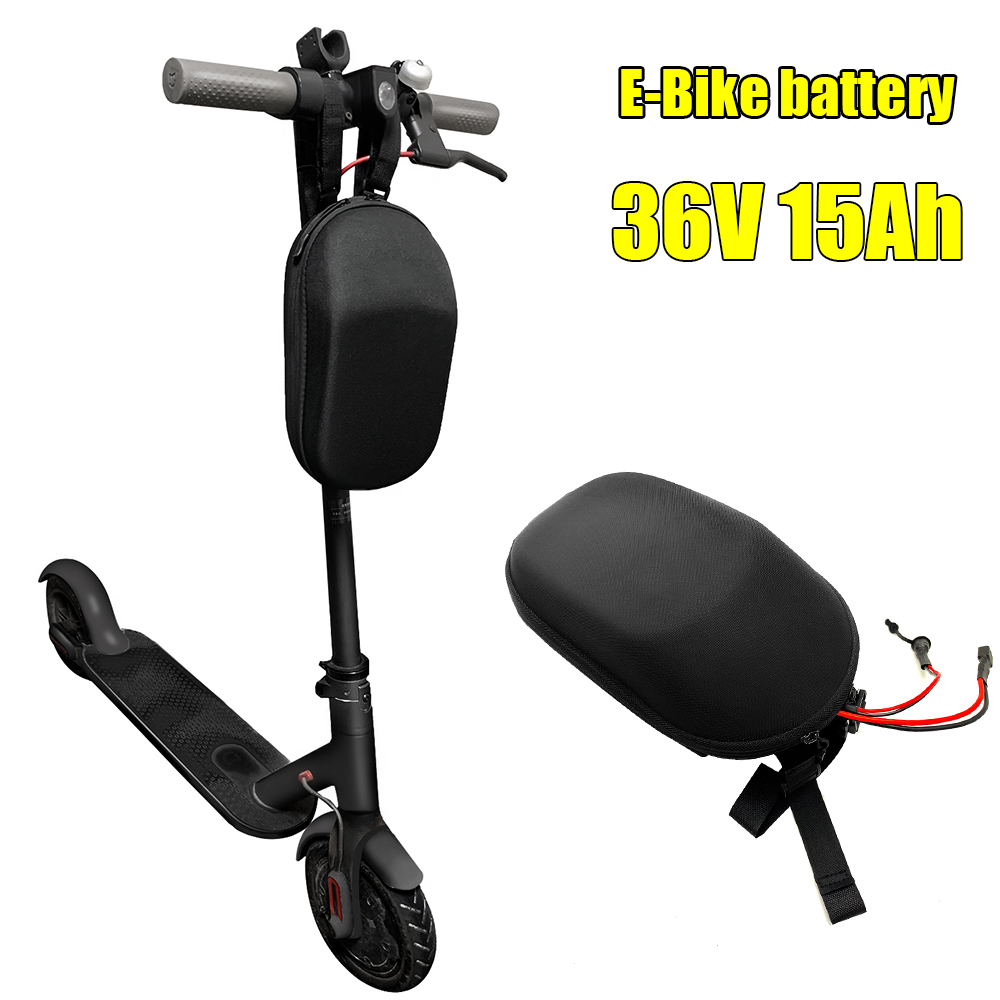 36V 15Ah Lithium Battery e-bike batts with bag for 500W 250w folding Electric Bicycle Scooter battery with BMS 36V 2A charger 1