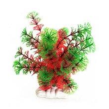 Aquarium Plastic Artificial Plant Water Grass Fish Tank Ornament Decoration Aquario Plantado
