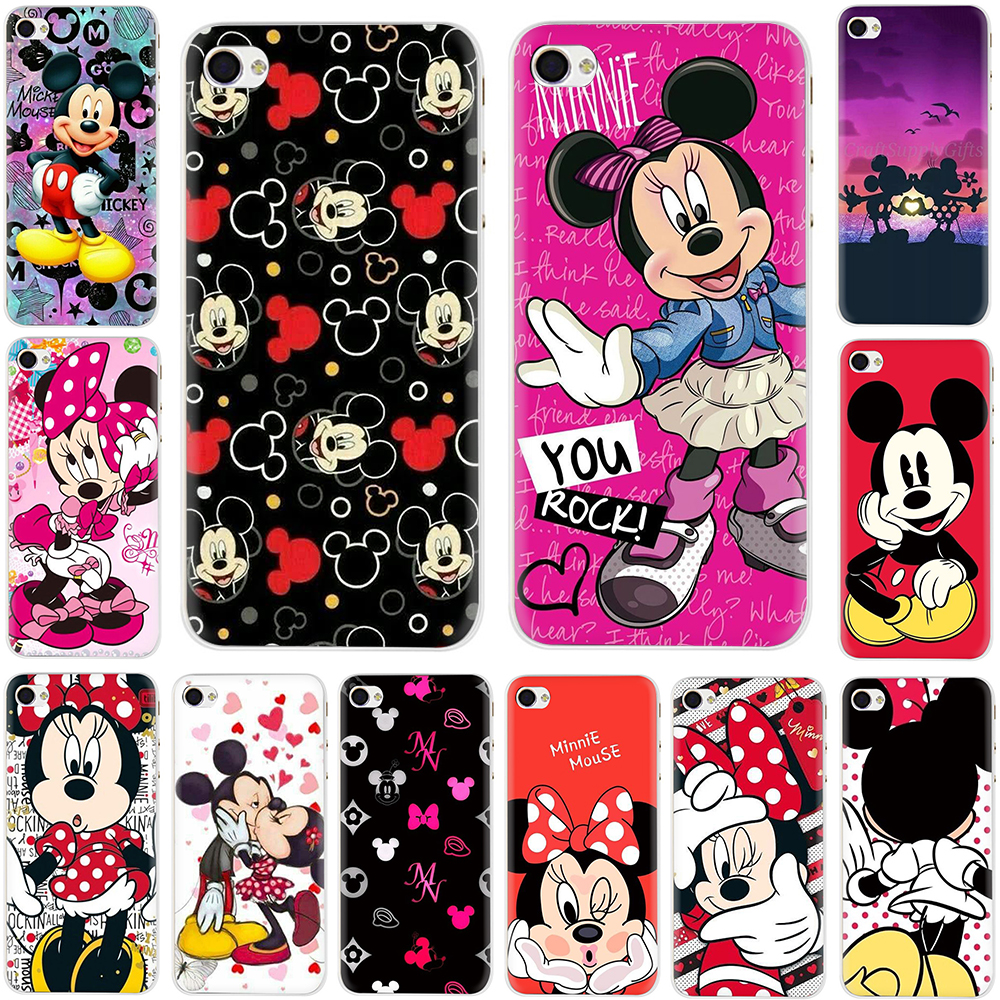 Mickey Minnie Mouse Hard Phone Cover Case For iphone 5 5S 5C 6 6S Plus 7 8 Plus X XS XR Max Car phone